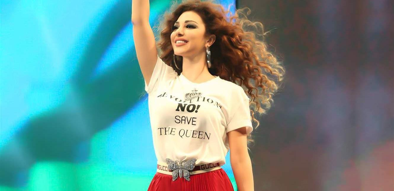 سعودية ترقص الى جانب ميريام فارس.. غضب عارم وموقف أهلها مثير (فيديو)