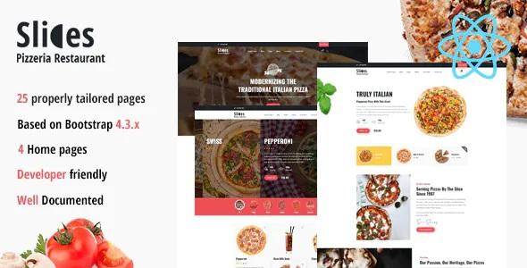 Best Pizza Restaurant React Template