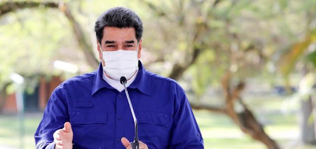 MADURO PIDE A EE. UU. Y UE EL LEVANTAMIENTO DE LAS SANCIONES SIN CONDICIONES