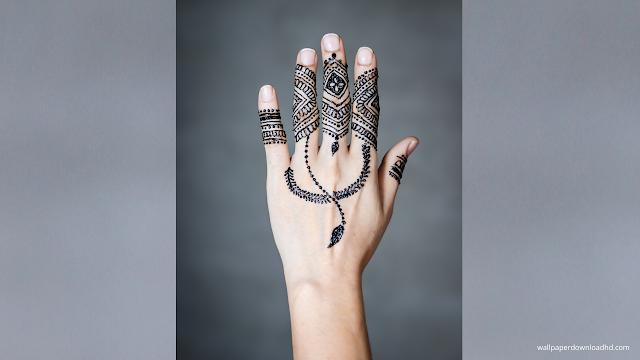 mehndi design for girl