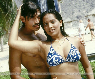 Meghna Naidu Taking Shower With Her Lover