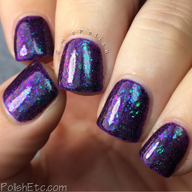 Top Shelf Lacquer - Holiday Flake Out Collection - McPolish - Mulled Wine