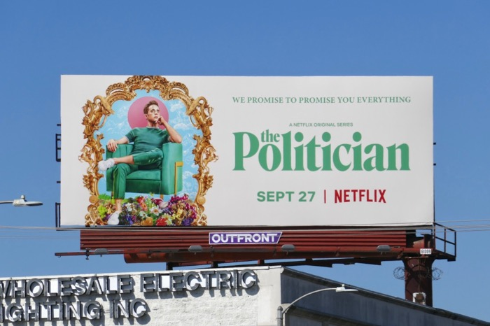 Ben Platt Politician Netflix series billboard