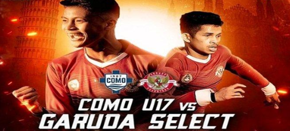 Nonton Live Streaming Como U-17 Vs Garuda Select Di Mola Tv