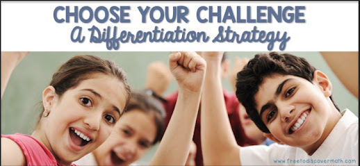 Choose Your Challenge: A Differentiation Strategy