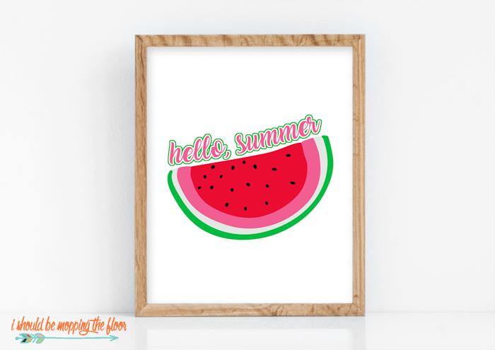Free Watermelon Printable