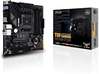 Placa Mãe Asus TUF Gaming B550M-Plus Chipset B550 AMD AM4 mATX DDR4