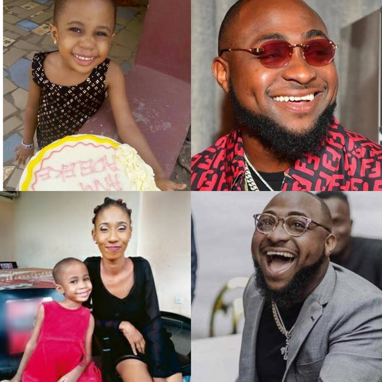 God That Will Punish You For Me – Davido's Alleged Daughter, Anu Adeleke Curses Him For Disowning Her #Arewapublisize