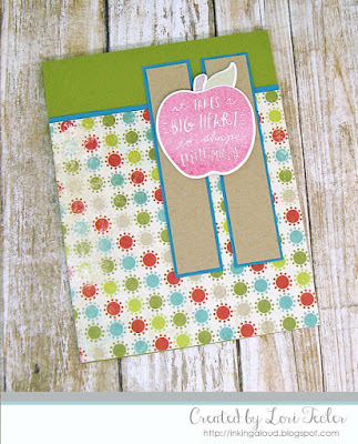 It Takes a Big Heart card-designed by Lori Tecler/Inking Aloud-stamps and dies from Reverse Confetti