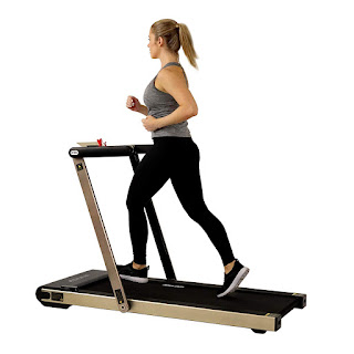 Sunny Health & Fitness Asuna Slim 8730 8730G Space Saving Motorized Treadmill (available in silver or gold colored frame), image, review features & specifications plus compare 8730 vs 8730G