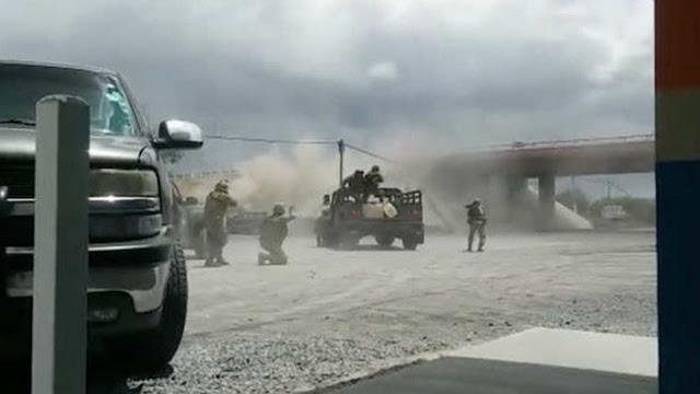 Así son de sangrientas las batallas del ejercito contra el Narco en el Norte contadas de primera mano!