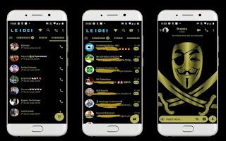 Anonymous Theme For YOWhatsApp & Fouad WhatsApp By Leidiane