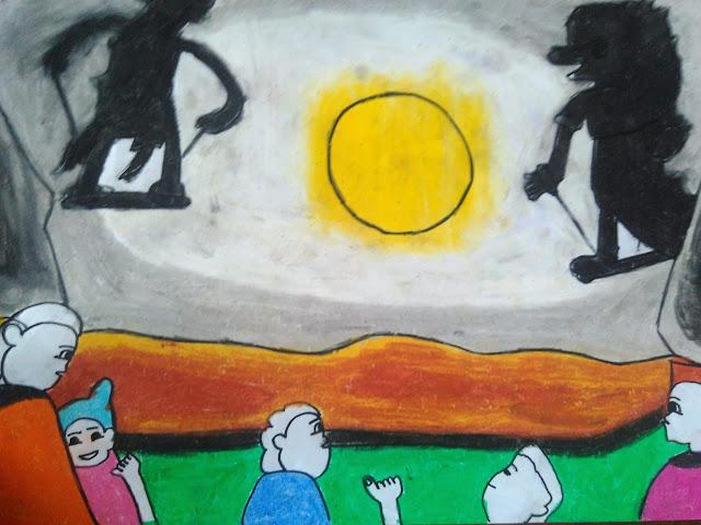gambar anak tema kesenian