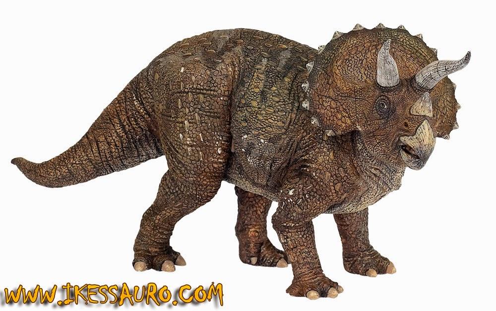 Miniatura Triceratops Papo
