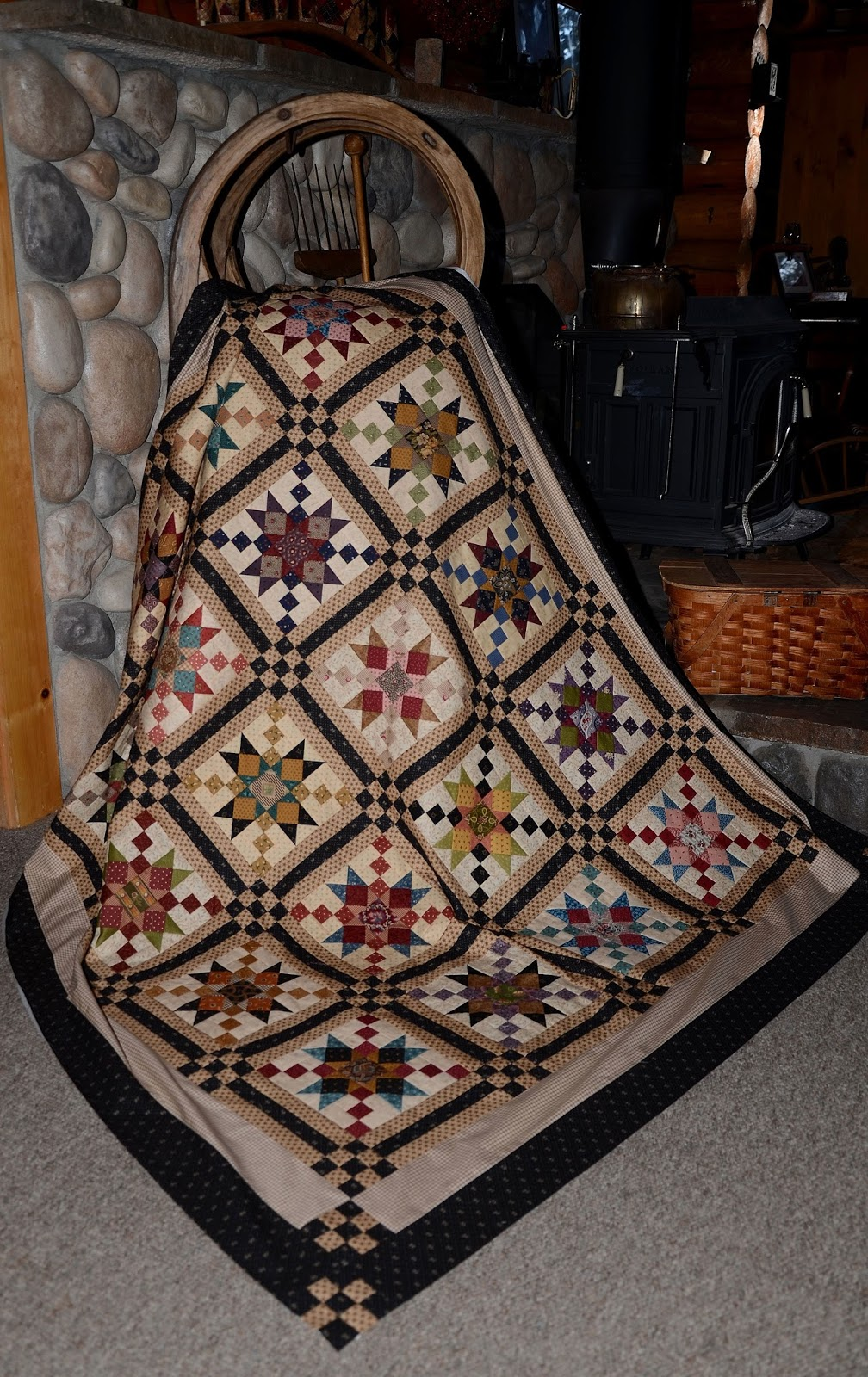The Charmer Pages Lisa Kudrow For More: Sew'n Wild Oaks Quilting Blog: Country Charmer Check-In