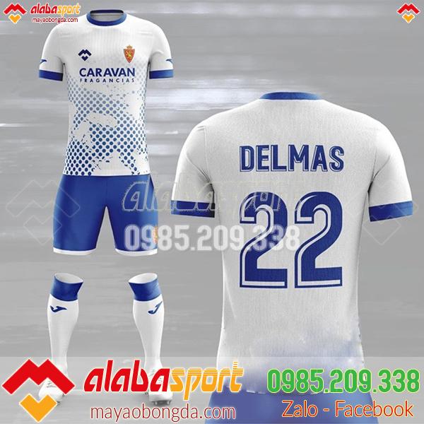 Mẫu áo bóng đá màu trắng hot 2019
