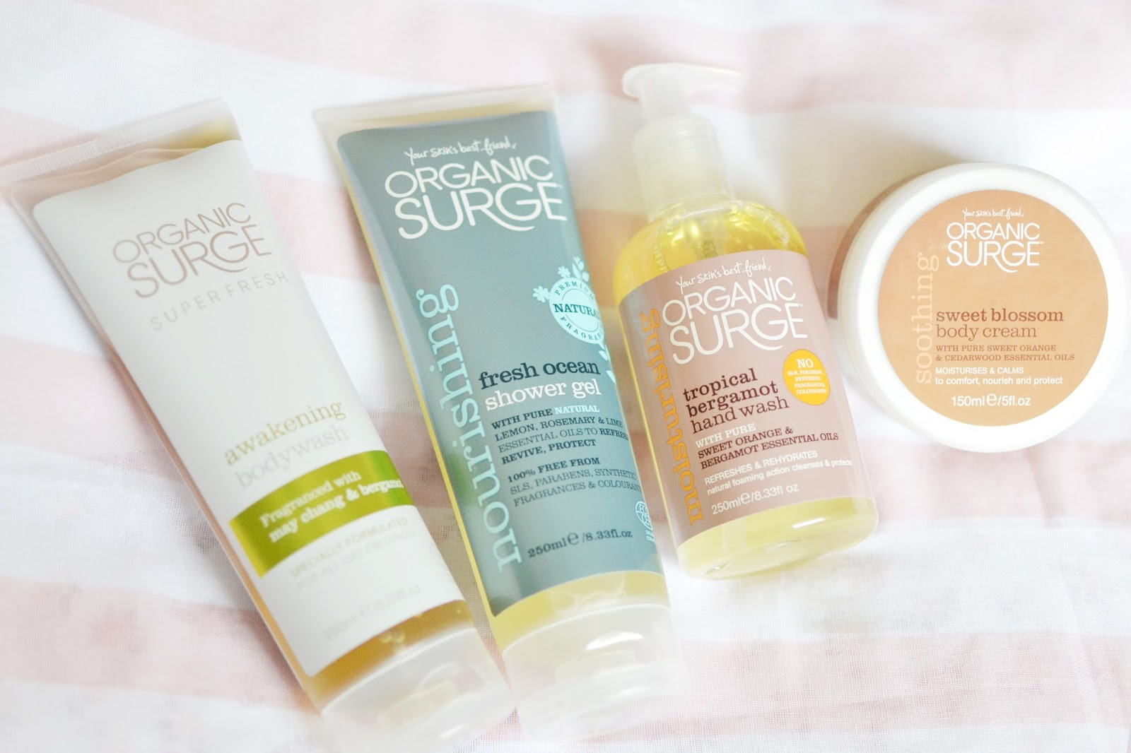 Organic surge products, organic surge review, natural and organic beauty products
