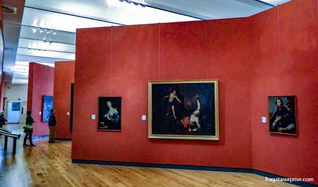 Galeria de pintura barroca do Palácio Abatellis de Palermo
