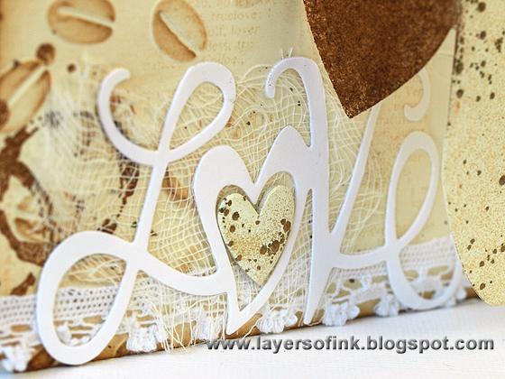 Layers Of Ink Coffee Mug Pop Up Card