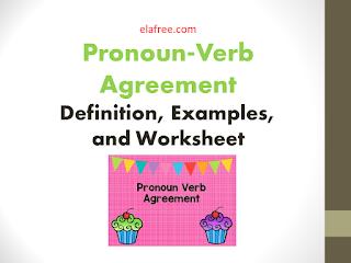 Pronoun-Verb Agreement