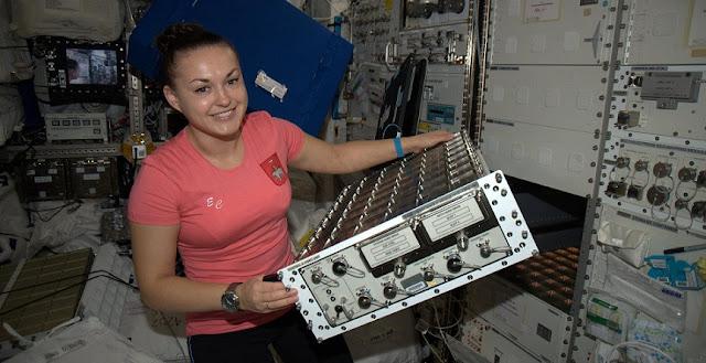 Russian cosmonaut Yelena Serova