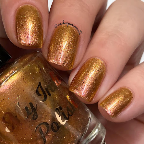 my indie polish golden graduation swatches