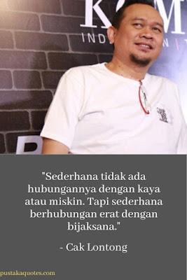 quote cak lontong waktu indonesia bercanda soal sederhana dan bijaksana