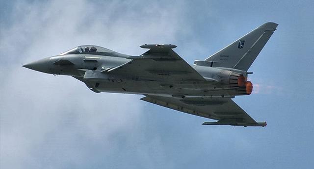 Un caza español dispara accidentalmente un misil en el espacio aéreo de Estonia