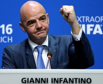 Gianni Infantino re-elected for a second term as FIFA president