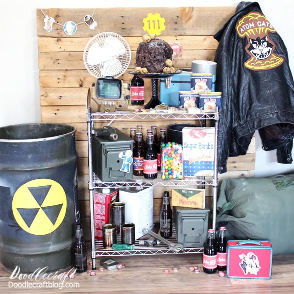 The backdrop I used was old pallet boards that my husband fit together tighter and turned into a background for me. I've used it in lots of pictures and posts on my blog, like this one!