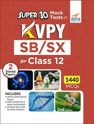 Disha KVPY Super 10 Mock Tests for Stream SB/SX free Download link