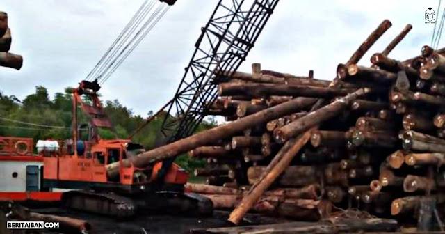 Siku lelaki bebadi nyawa, kena tinggang kayu