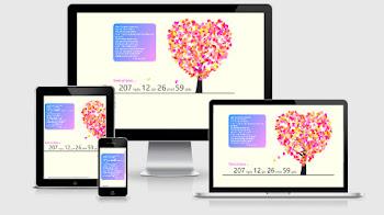 Share Template Đếm Ngày Yêu Nhau Cực Cool  Kết Hợp Tỏ Tình -  Been Together Version 4