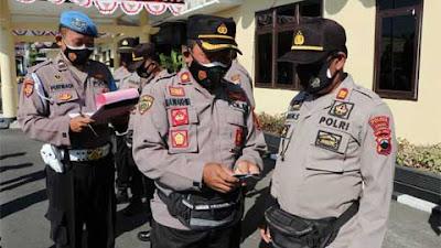 Propam Polres Kebumen Gelar Gaktiblin, Polisi Razia Polisi