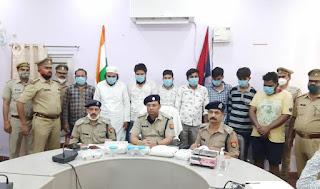 बाराबंकी पुलिस को मिली बहुत बड़ी सफलता, 15 करोड़ की मार्फीन सहित आठ लोगो को किया गिरफ्तार
