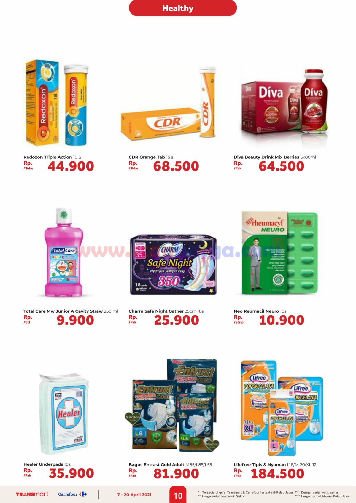 Katalog Promo Carrefour Transmart 7 - 20 April 2021 10