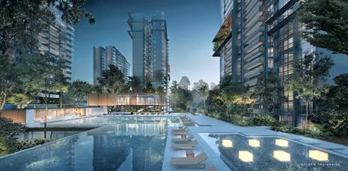 JadeScape - 50m Skyline Pool