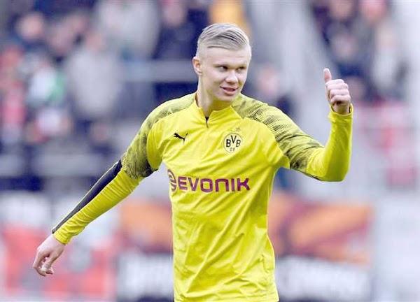 هالاند يبدأ موسمه في الدوري الألماني «منفجرا»