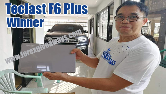 March 2021 Telcast F6 Laptop Winner