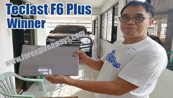 March 2021 Telcast F6 Laptop Winner