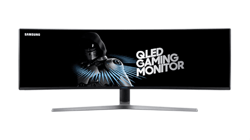 SAMSUNG QLED Gaming-Monitor 49 Zoll LC49HG90DME