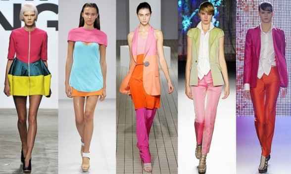 One Of The Worlds Top Designers Featuring A Collection Of Trend Fashion 2013 With Mix Of Chic Color Outside The Lines But All Of Them Look Very Pretty