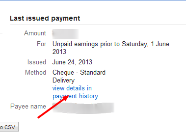Google adsense Check status tracking step 3