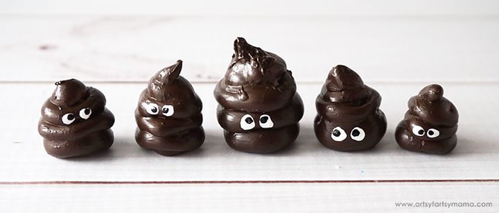 No. 2 Poop Pencil Toppers