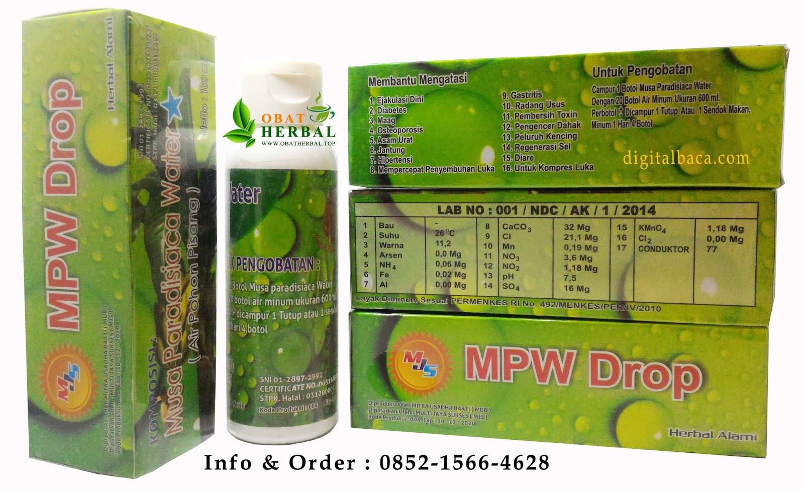 MPW DROP Herbal Tradisional Air Pohon Pisang