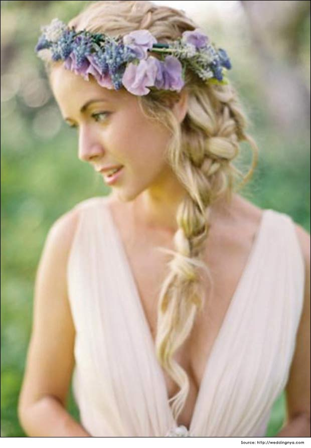 Loose Side Braided Hairstyle