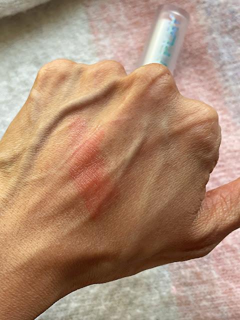 MAC Glow Play Lip Balm in Rouge Awakening  Review, photos, Swatches