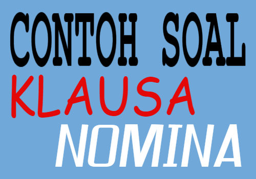 Klausa Nomina