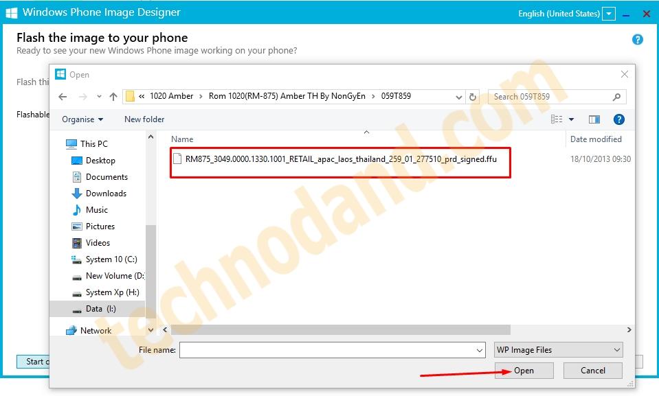 Cara Flash Handphone Lumia Dengan WPID - Technodand