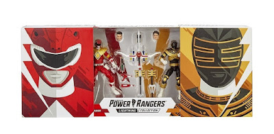 San Diego Comic-Con 2019 Exclusive Mighty Morphin Power Rangers Lightning Collection Red & Zeo Gold Ranger Action Figure 2 Pack by Hasbro